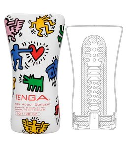 Tenga Tenga Masturbator - Keith Haring Soft Tube Cup