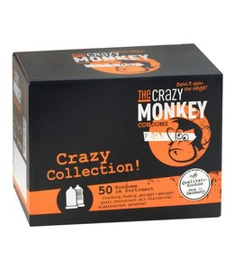 The Crazy Monkey TCMC Crazy Collection! Condooms - 50 stuks
