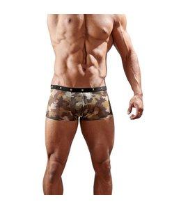 Svenjoyment Underwear Boxer Met Goudkleurige Studs En Camouflageprint