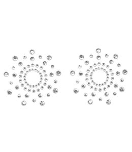 Bijoux Indiscrets Mimi Tepelstickers - Zilver