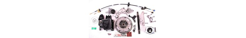 Parts to fit an other type of gearbox in your car, like M32 or F28 gearbox