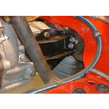 Mathijssen Technics F28 Gearbox mount Corsa-B and Tigra A (LH)