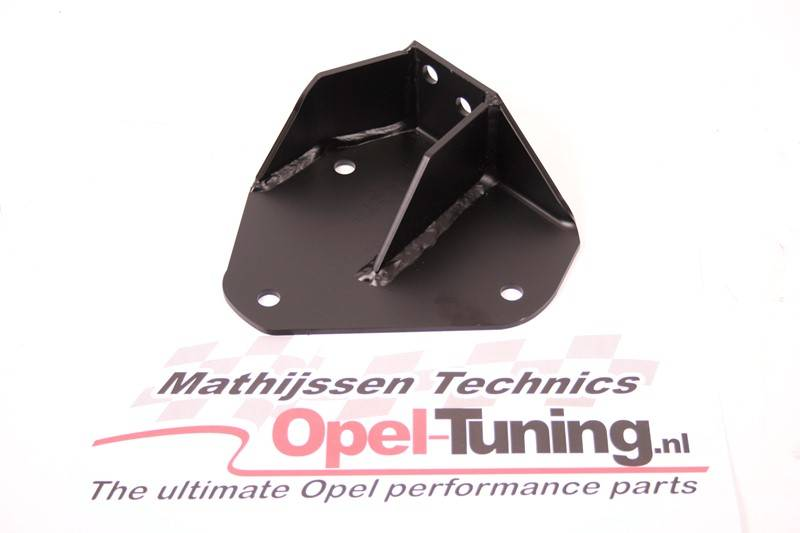 Mathijssen Technics Single Engine mount left-front (LH), To fit Calibra Turbo engine C20LET with F28 6-speed into Astra-mk3.