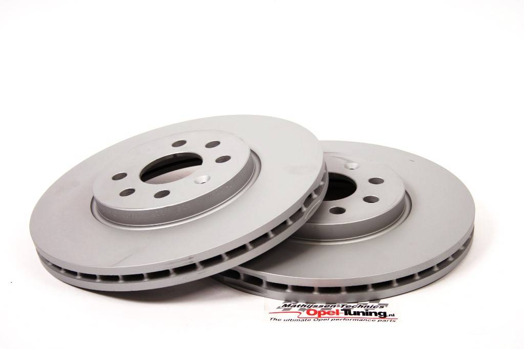 Set 280 x 25 mm 4 stud brake dics.
