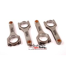 Set H-beam steel connecting rods.