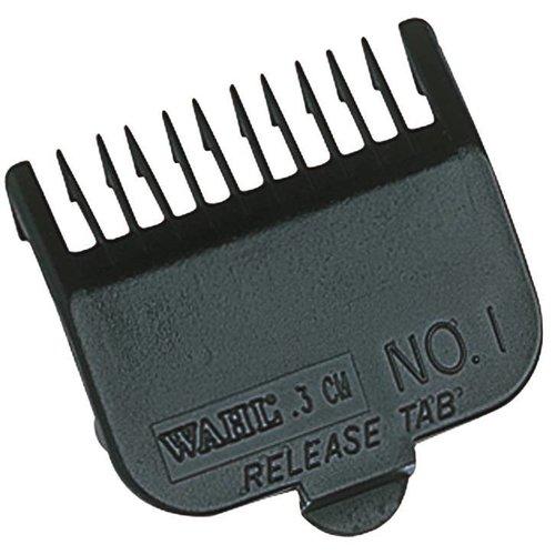 Wahl Opzetkam Type 1- Plastic Zwart