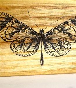 Vlinder stempel