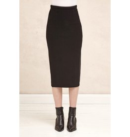 Charli London Charli London - Campbell Wool Rib Skirt.