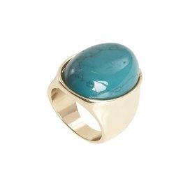 ICHI Ichi - A Bone Fr - Green Stones Ring