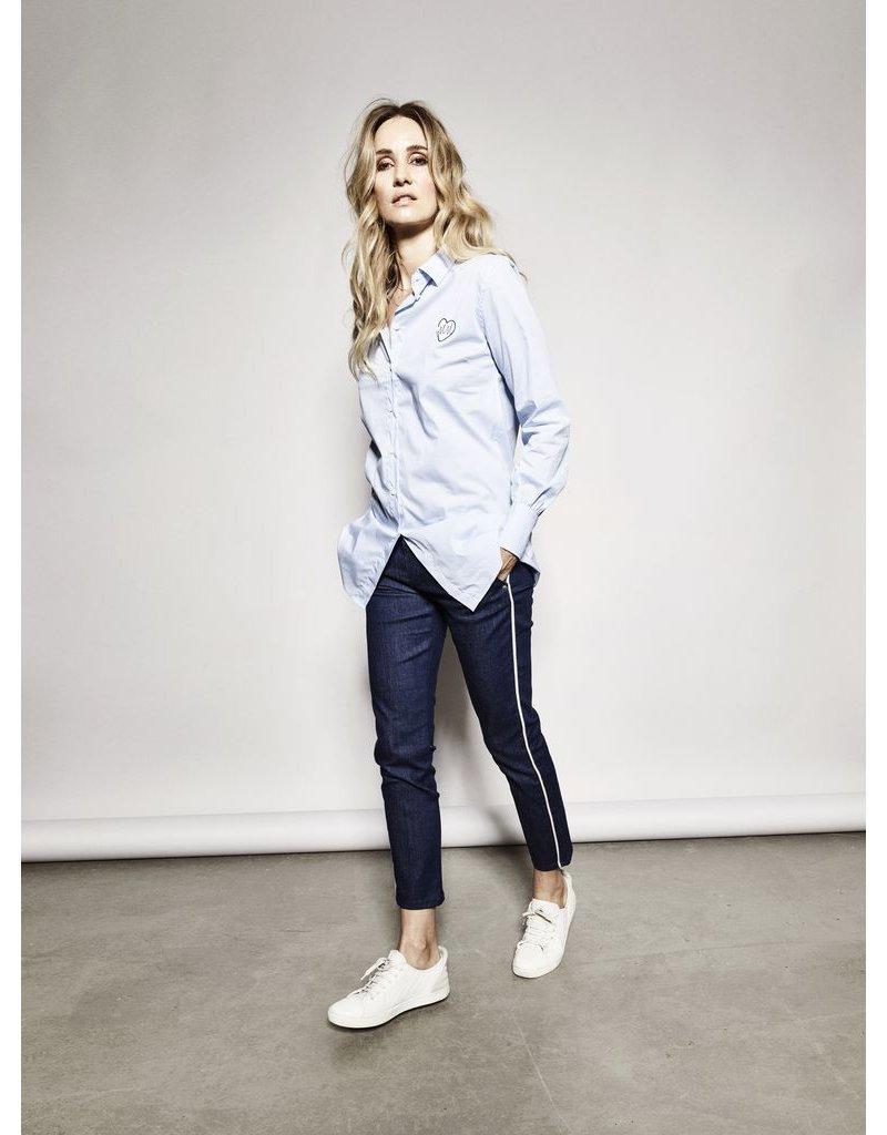Mos Mosh Mos Mosh - Me-Like Piping Jeans