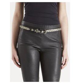 Nu Denmark Nu Denmark - Black Leather Belt