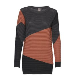 ICHI Motown Long Sleeved Knit tunic
