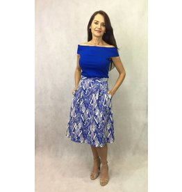 Fee G Fee G - Embossed Print Skirt