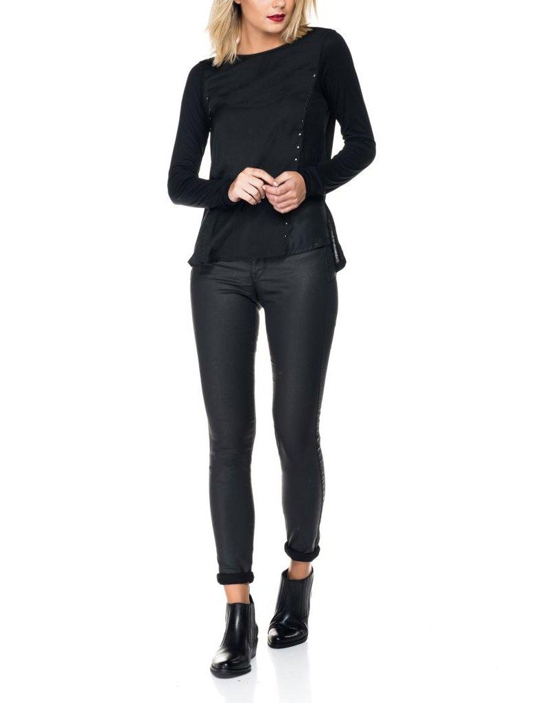 Salsa Jeans Salsa Jeans - Secret Skinny Leather Look Jeans