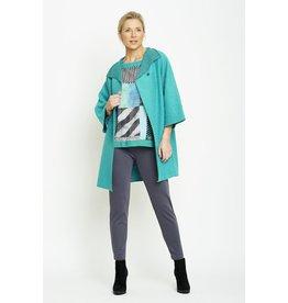 Peruzzi Peruzzi - Jade Wool Mix Coat