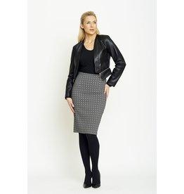 Peruzzi Monochrome Stretch Skirt