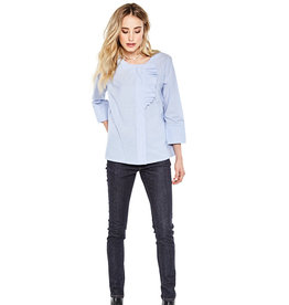 10 Feet Fancy Short Long Sleeve Blouse with Ruffle details