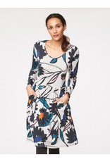Thought Thought - Long Sleeve Calder Dress