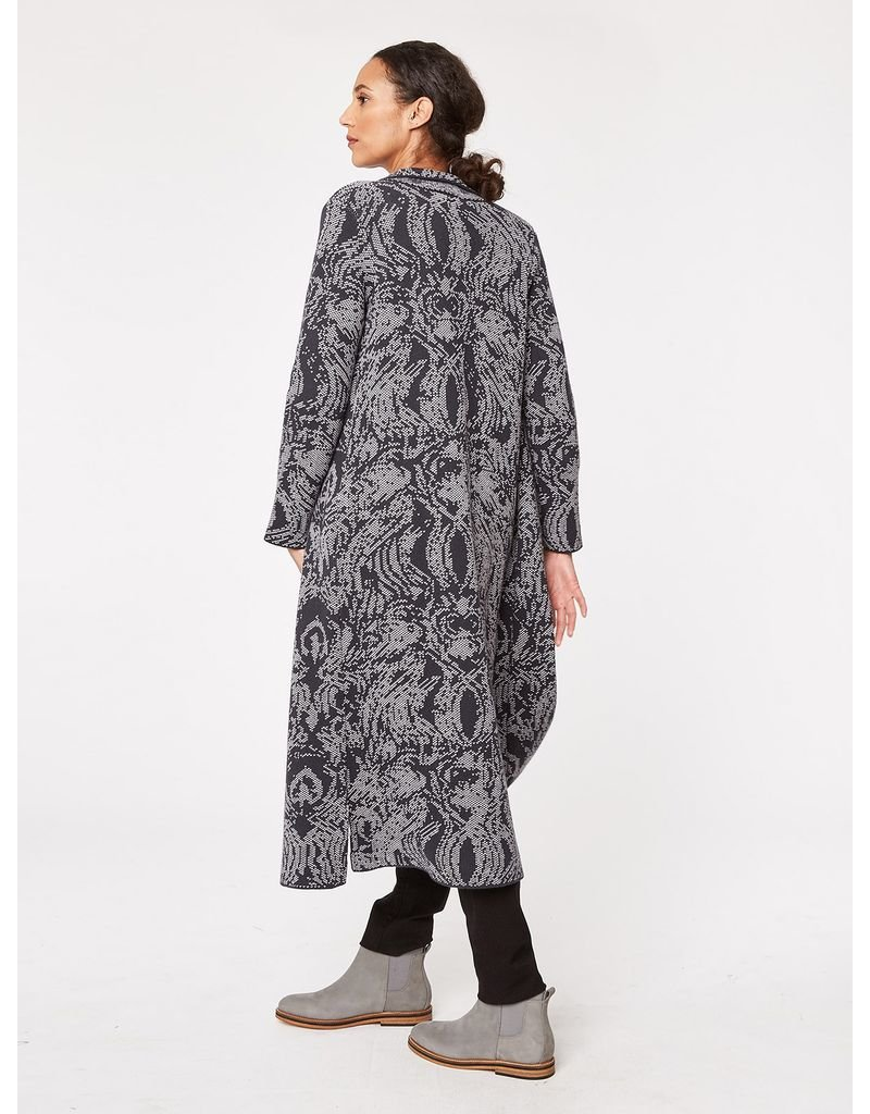 Thought Thought - Museo Organic Wool Throw Coat
