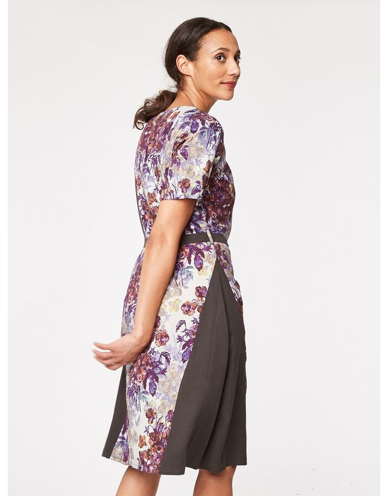 Thought Thought - Ruskin Floral Print Dress
