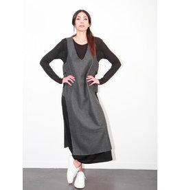 Humility Sleeveless V-Neck Dress