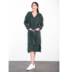 Humility Long Forest Green Cardigan