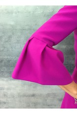 Fee G Fee G - Peplum Cuff Magento Dress