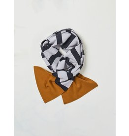 Thought Elford Striped Organic Wool Scarf