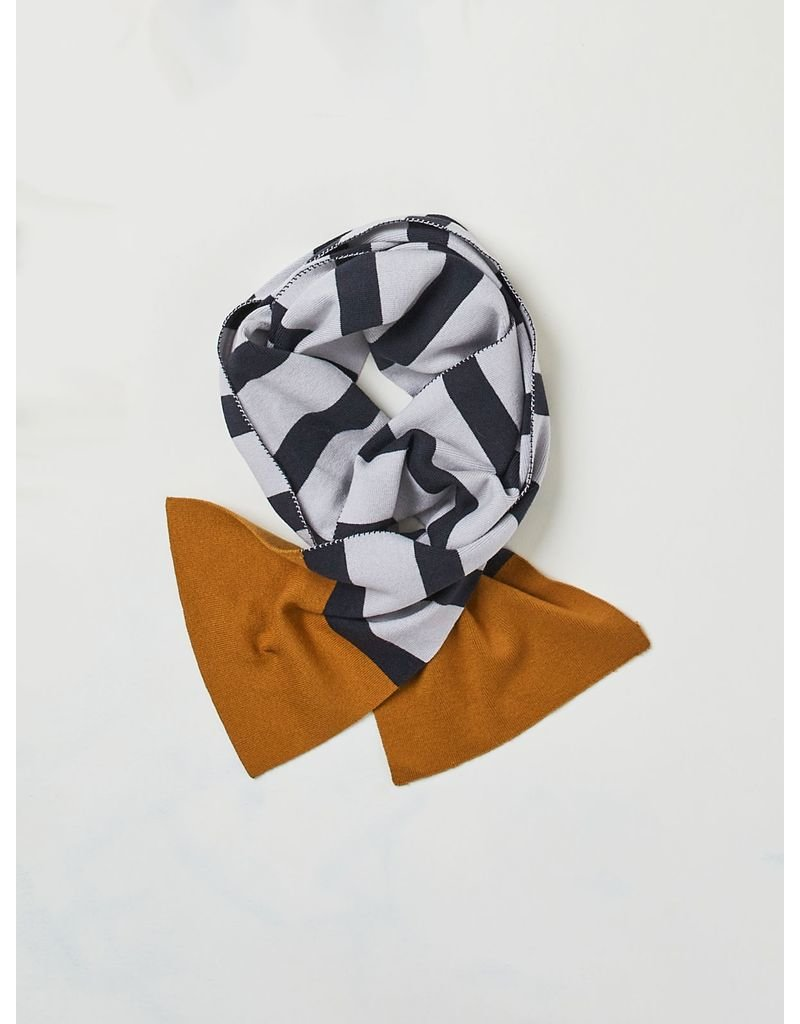 Thought Thought - Elford Striped Organic Wool Scarf