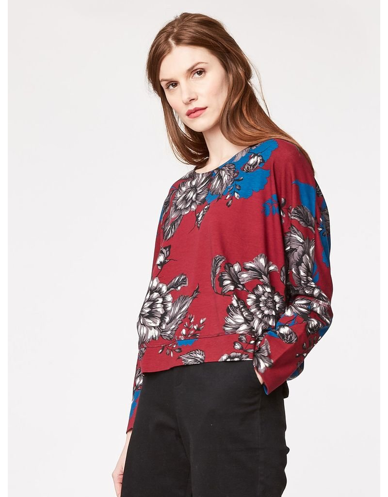 Thought Thought - Ella Floral Top