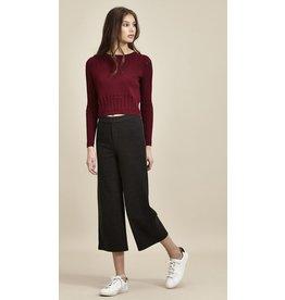 Charli London Baptista Charcoal Melange Trousers