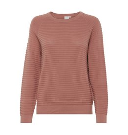 ICHI Netty - Long Sleeve Ribbed Top