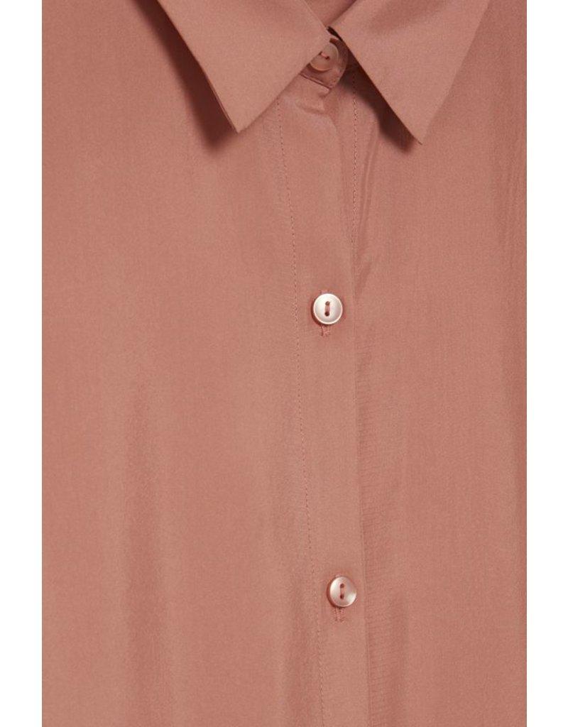 ICHI ICHI - Crush - 100% Silk- Long Sleeve Shirt