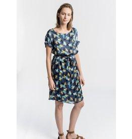 La Fee Maraboutee Silk Floral Print Dress