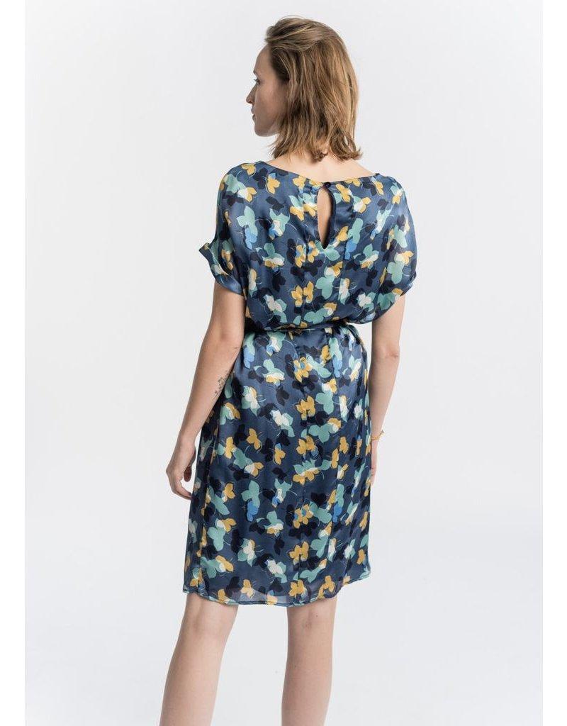 La Fee Maraboutee La Fee Maraboutee - Silk Floral Print Dress