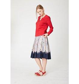Thought Kimono Spot Skirt