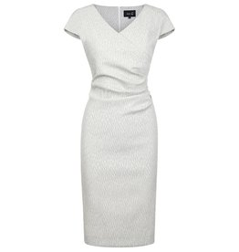Fee G Side Pleat Stretch Dress