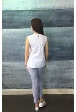Peruzzi Narrow Stripe crop Trouser