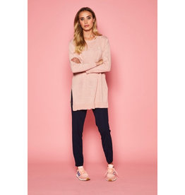 10 Feet Long Fine Knitted Pullover with placket detail at the back