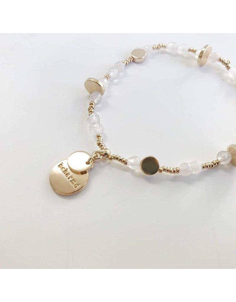 Bcharmd bcharmd - Rose White Seashell Bracelet