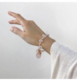Bcharmd Russell Rose Quartz Bracelet