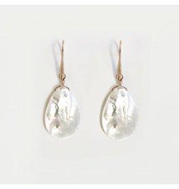 Bcharmd bcharmd - Marisol White Seashell Earrings
