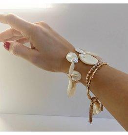 Bcharmd Ingrid White Seashell Bracelet