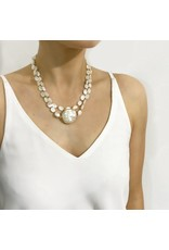 Bcharmd Beatrice Abalone Shell Necklace