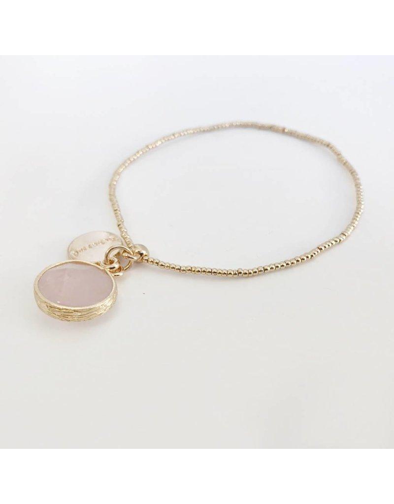 Bcharmd Kate Rose Quartz Bracelet