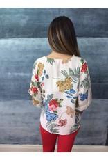 La Fee Maraboutee Floral Pattern Print Blouse