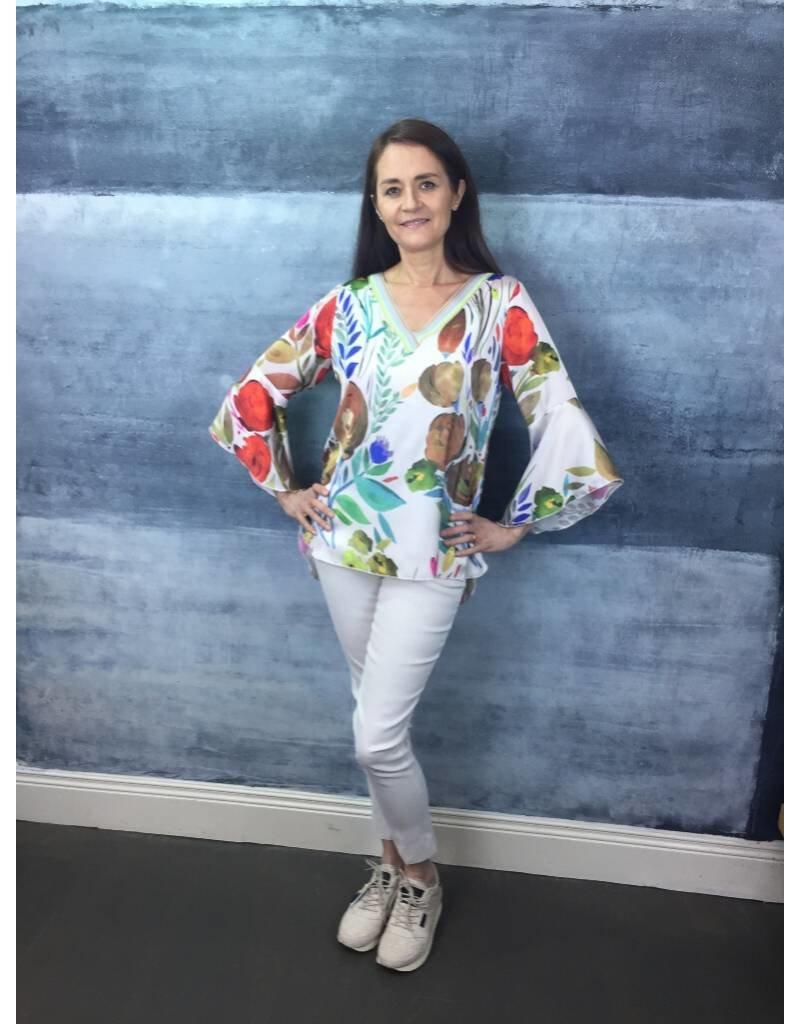 Peruzzi Floral Print Top