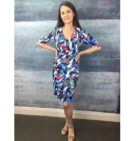 Peruzzi Print Tiered Dress