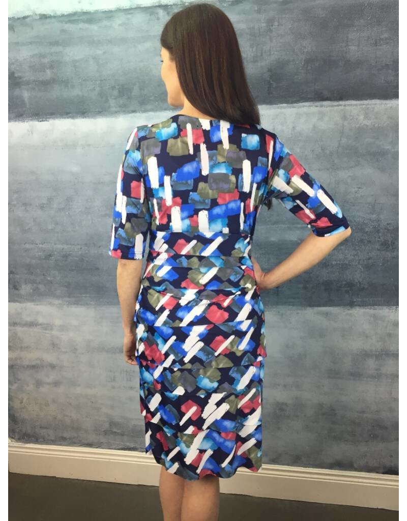 Peruzzi Print Tiered Dress