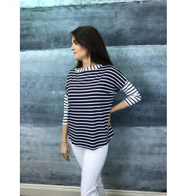 Peruzzi Long Sleeved Stripe Top